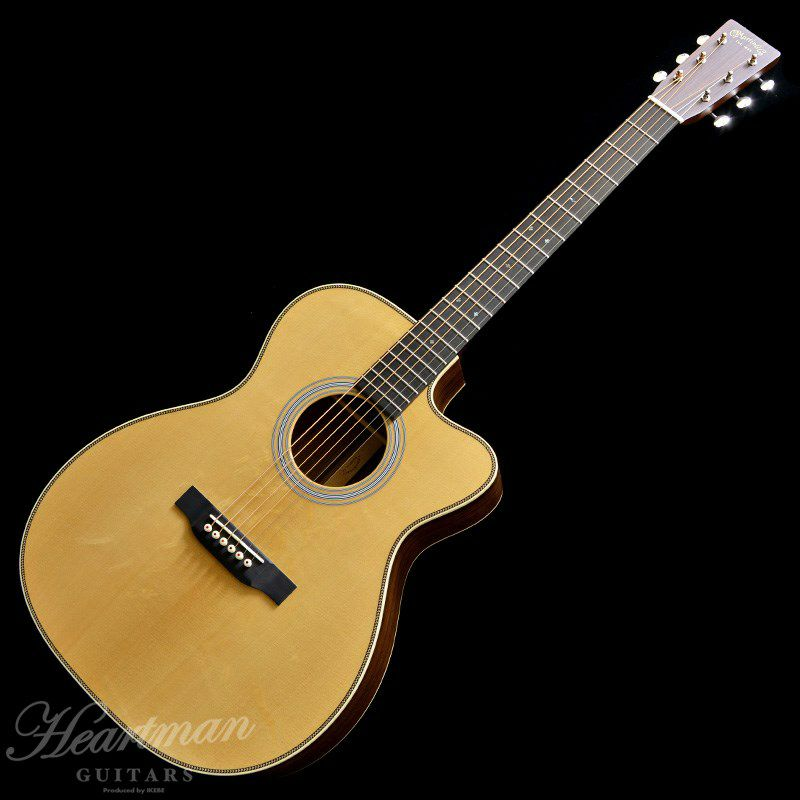 """CTM 000C-28 VTS SWISS SPRUCE TOP """"Nazareth Martin Factory Selected Wood""""_1"""