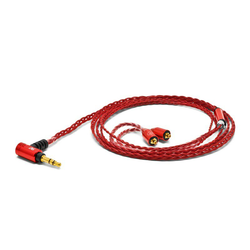Palette 8 MX-A Crimson Red for Shure SE series etc (1.2m)_1