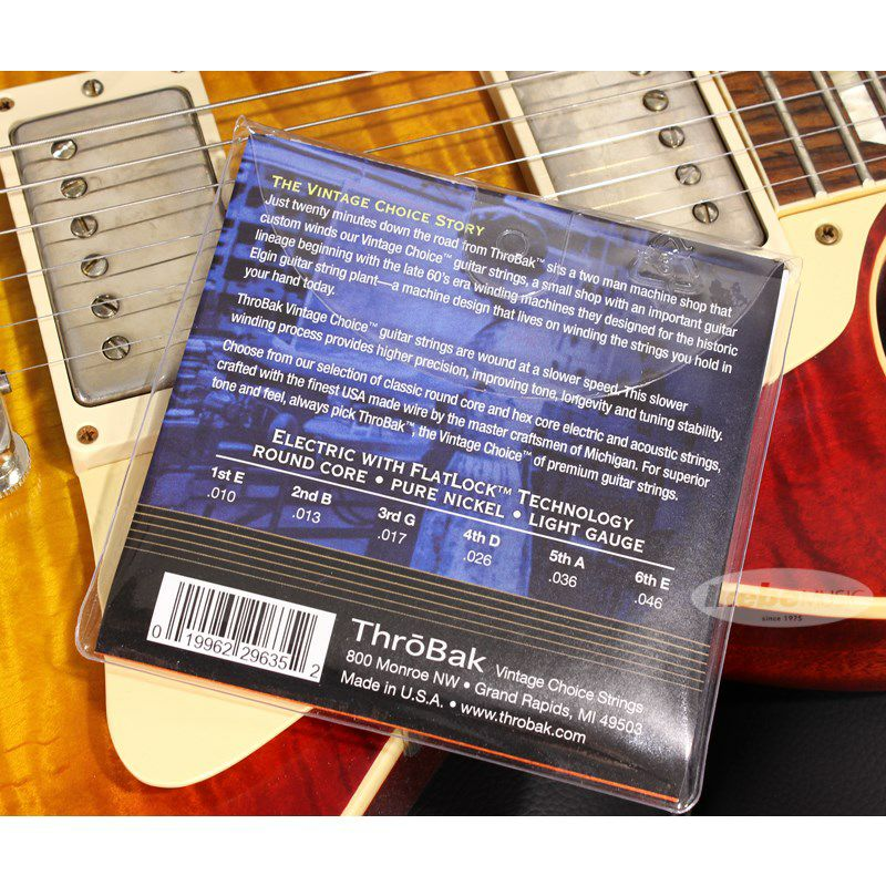 Vintage Choice Pure Nickel Guitar Strings [Round Core/Light 10~46]_2