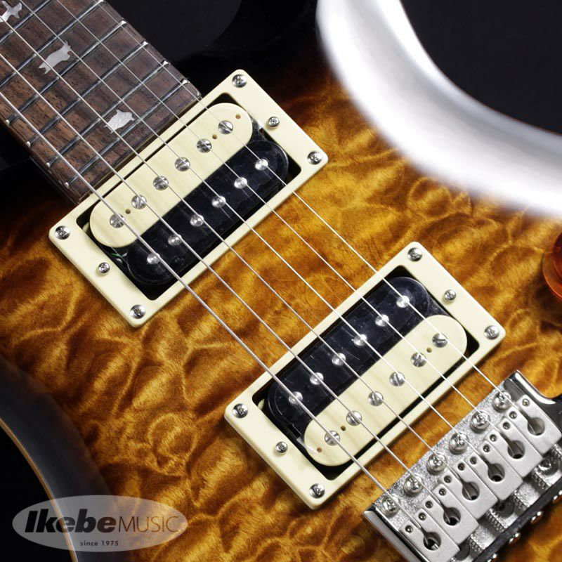 Japan Limited SE CUSTOM 24 Quilted MapleTop, Matching Head (Black Gold Burst)  【ポイント20%還元】_4