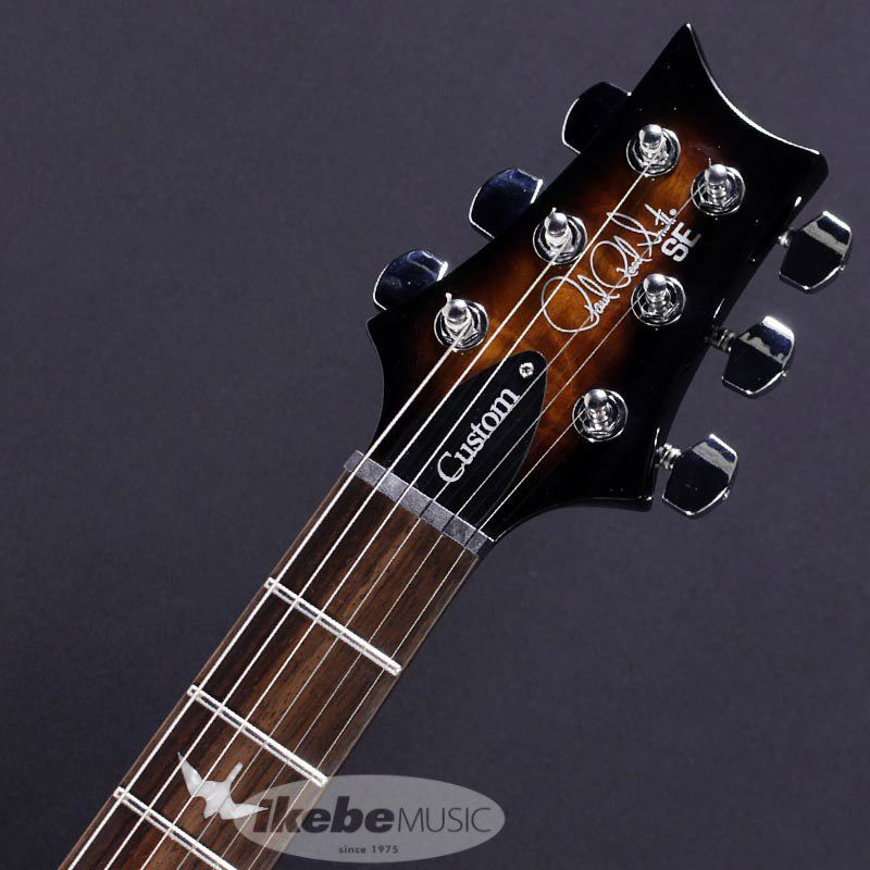 Japan Limited SE CUSTOM 24 Quilted MapleTop, Matching Head (Black Gold Burst)  【ポイント20%還元】_5