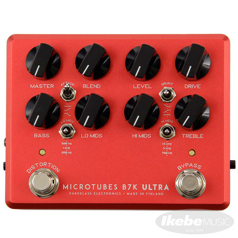 Microtubes B7K Ultra v2 with Aux In Limited edition Crimson Red 【イケベオリジナルカラー】_1