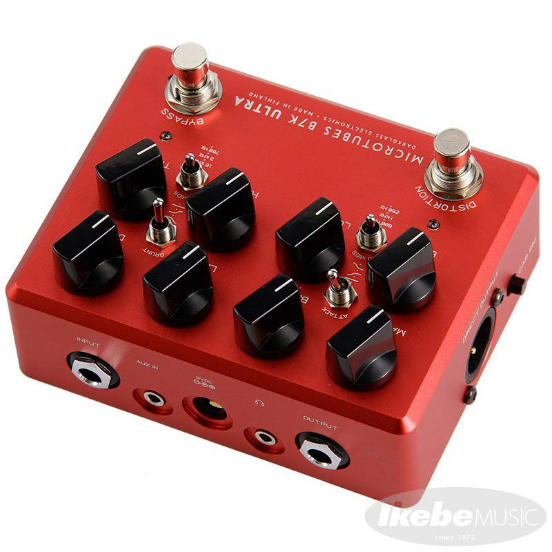 Microtubes B7K Ultra v2 with Aux In Limited edition Crimson Red 【イケベオリジナルカラー】_3