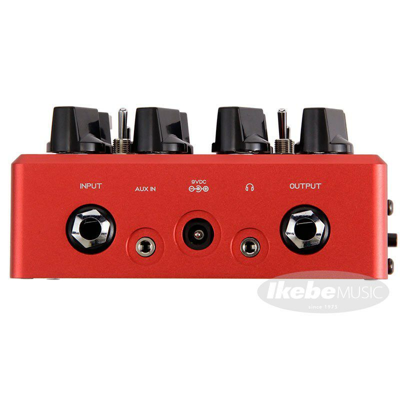 """Microtubes B7K Ultra v2 with Aux In Limited edition """"Crimson Red"""" 【イケベオリジナルカラー】 【B7K Ultra v2 Crimson Red 発売記念 ステッカープレゼントキャンペーン】_5"""