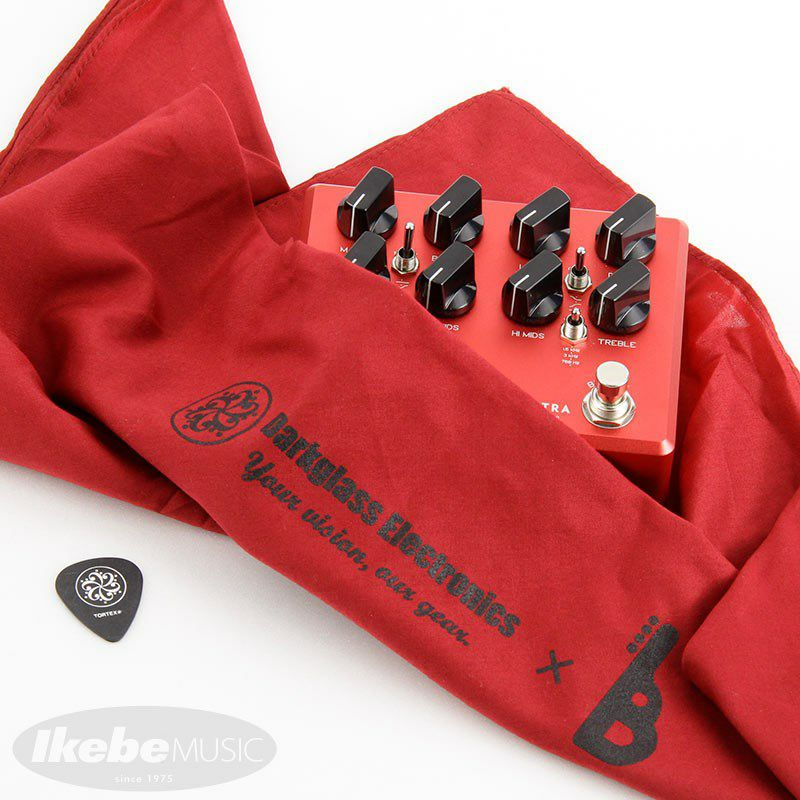 Microtubes B7K Ultra v2 with Aux In Limited edition Crimson Red 【イケベオリジナルカラー】_8