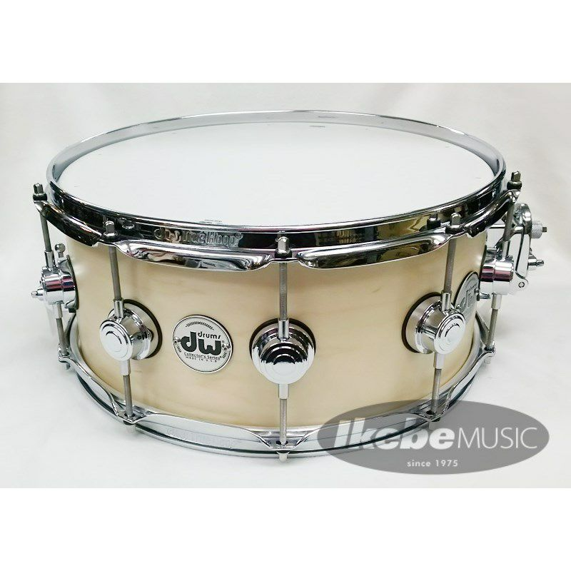 DW-CL1406SD/SO-NAT/C [Collector's Wood Snare / Pure Maple 14 × 6 / Satin Oil Finish]_1