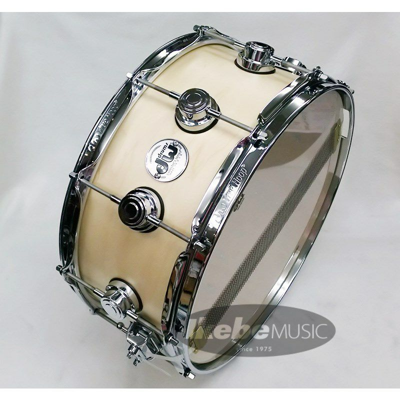 DW-CL1406SD/SO-NAT/C [Collector's Wood Snare / Pure Maple 14 × 6 / Satin Oil Finish]_4
