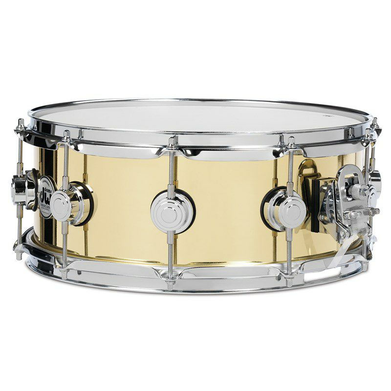DW-BR7 1455SD/BRASS/C/S [Collector's Metal Snare / Bell Brass 14×5.5]_1