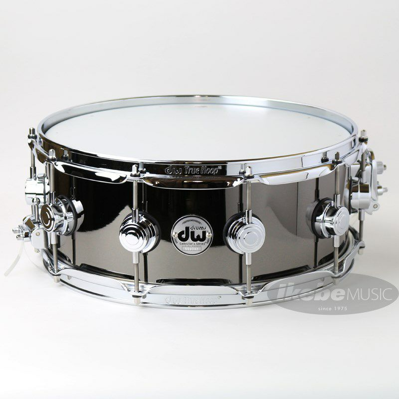 DW-BNB1455SD/BRASS/C [Collector's Metal Snare / Black Nickel Over Brass 14×5.5]_1