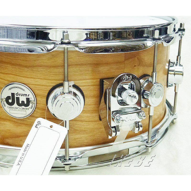 """DW-CC1406SD/SO-NAT/C [Collector's Wood Snare / Cherry 14"""" × 6""""] [CL2020]_3"""
