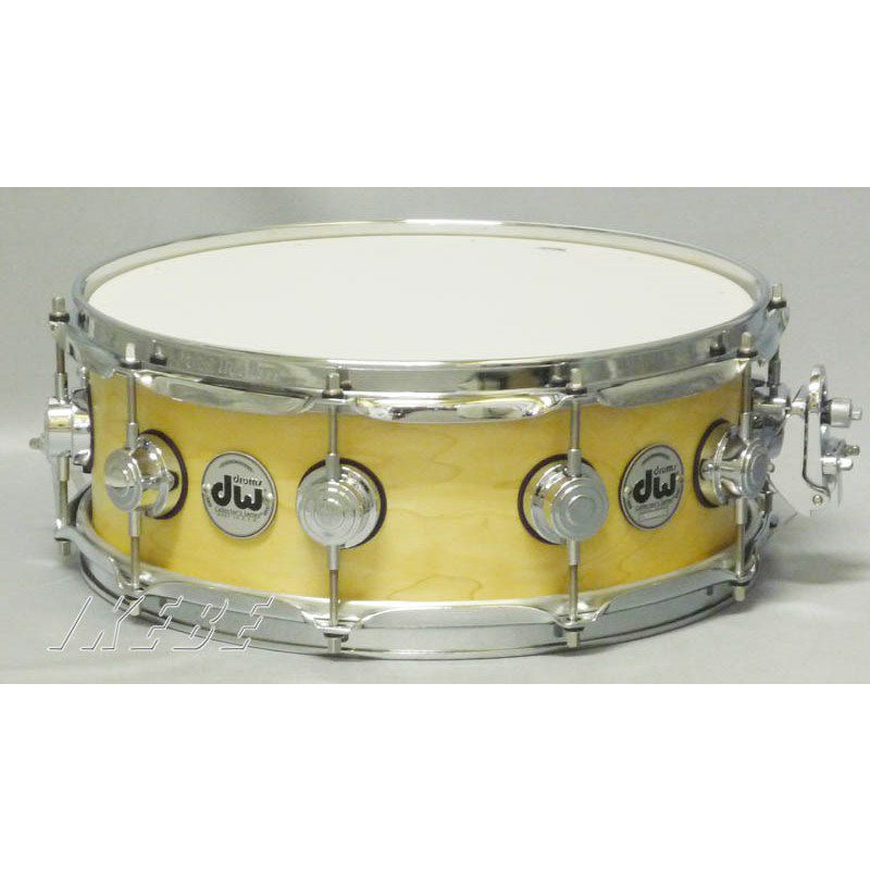 DW-CL1405SD/SO-NAT/C [Collector's Wood Snare / Pure Maple 14 × 5 / Satin Oil Finish]_1