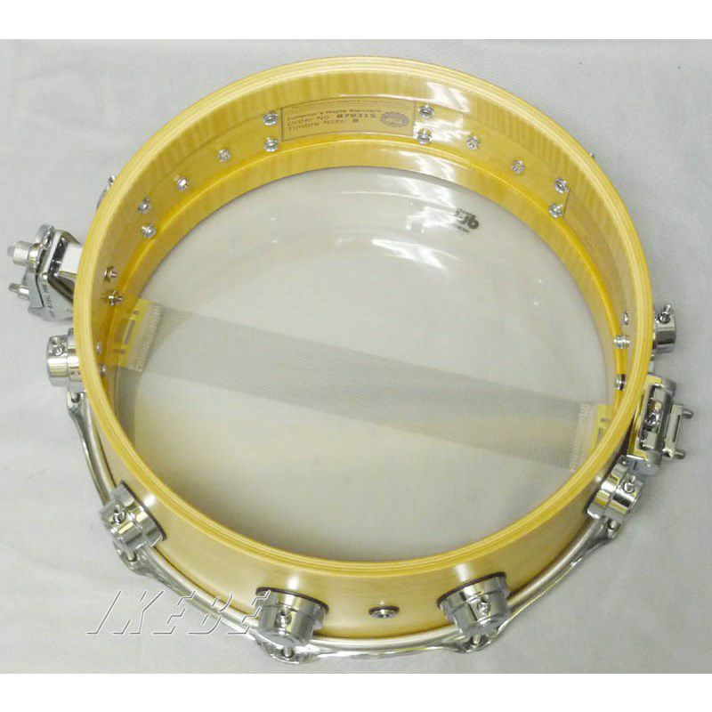 """DW-CL1405SD/SO-NAT/C [Collector's Wood Snare / Pure Maple 14"""" × 5"""" / Satin Oil Finish]_4"""