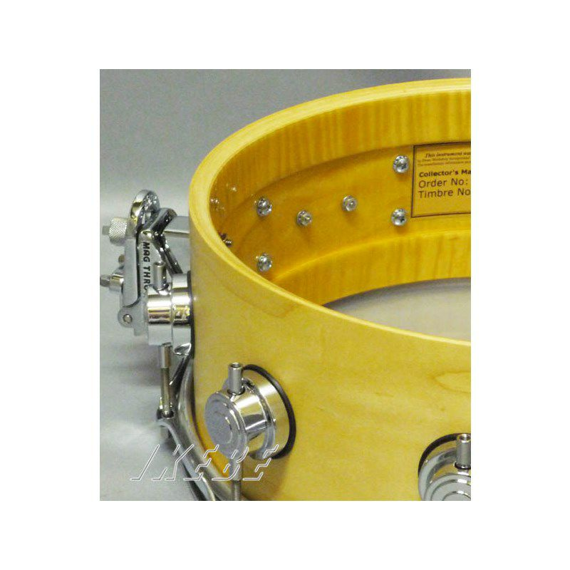 DW-CL1405SD/SO-NAT/C [Collector's Wood Snare / Pure Maple 14 × 5 / Satin Oil Finish]_5