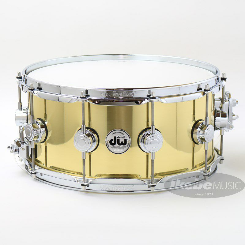 """DW-BR7 1465SD/BRASS/C/S [Collector's Metal Snare / Bell Brass 14""""×6.5""""]_1"""