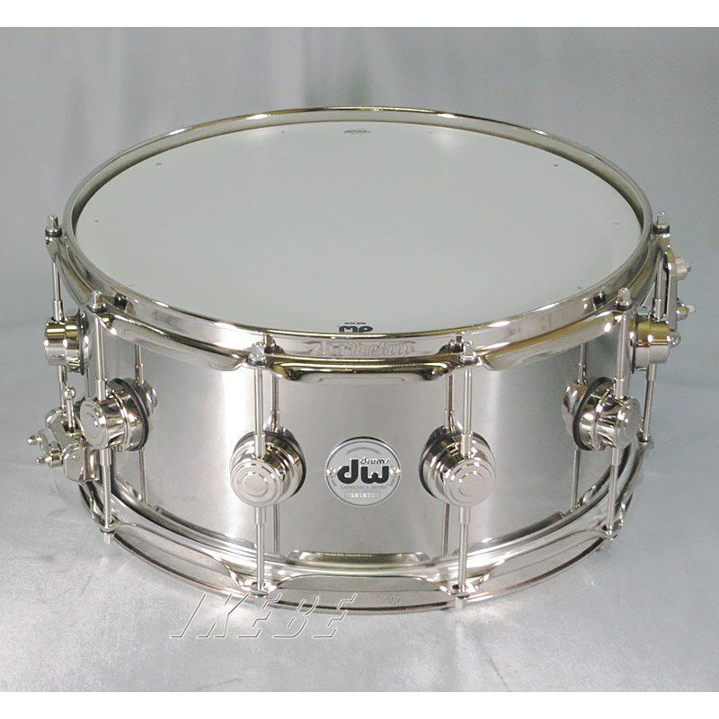 """DW-SS1465SD/STAIN/N [Collector's Metal Snare / Stainless Steel 14"""" × 6.5""""]_1"""