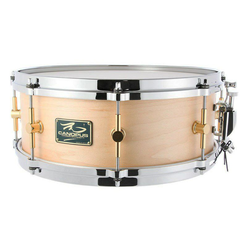 """MO-1455DH [MO Snare Drum 14""""×5.5"""" w/Die Cast Hoops / Natural Oil]_1"""