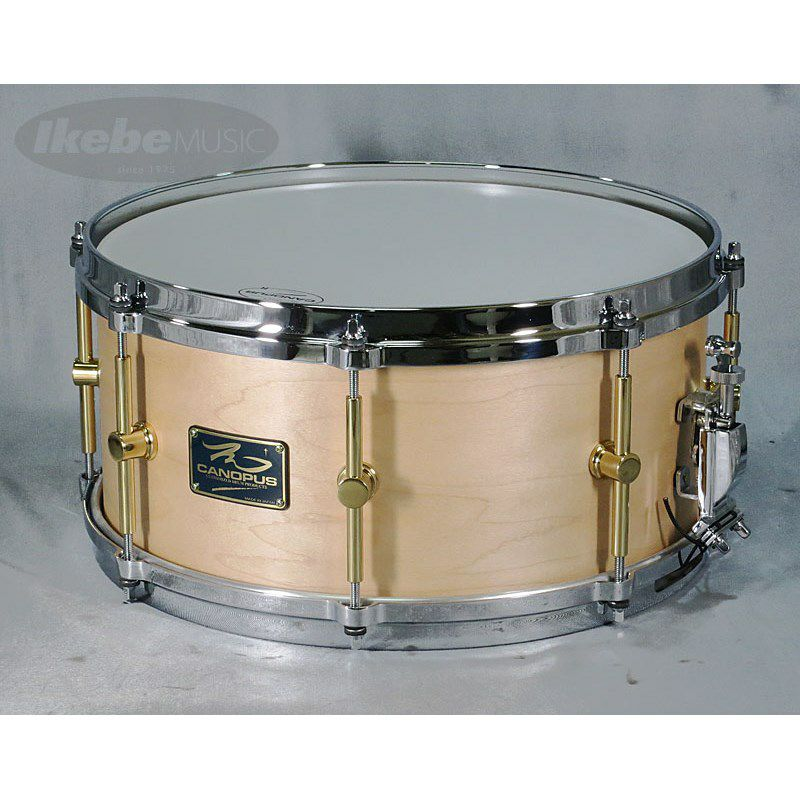 """MO-1465DH [MO Snare Drum 14""""×6.5"""" w/Die Cast Hoops / Natural Oil]_1"""