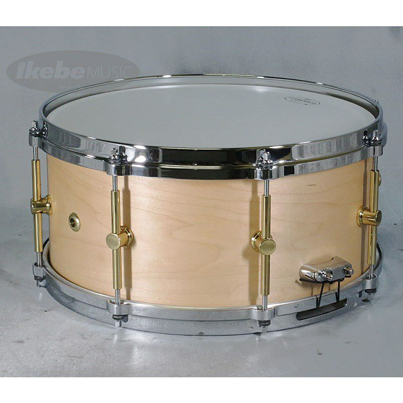 """MO-1465DH [MO Snare Drum 14""""×6.5"""" w/Die Cast Hoops / Natural Oil]_2"""