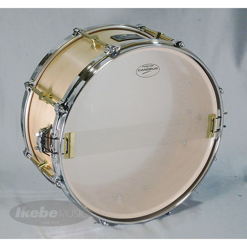 """MO-1465DH [MO Snare Drum 14""""×6.5"""" w/Die Cast Hoops / Natural Oil]_4"""
