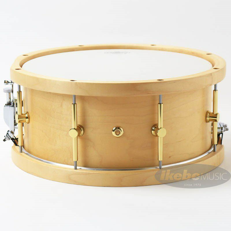 "MO-1465WH [MO Snare Drum 14""×6.5"" w/Wood Hoops / Natural Oil]_2"