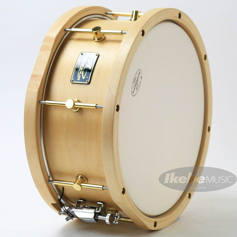 """MO-1465WH [MO Snare Drum 14""""×6.5"""" w/Wood Hoops / Natural Oil]_5"""