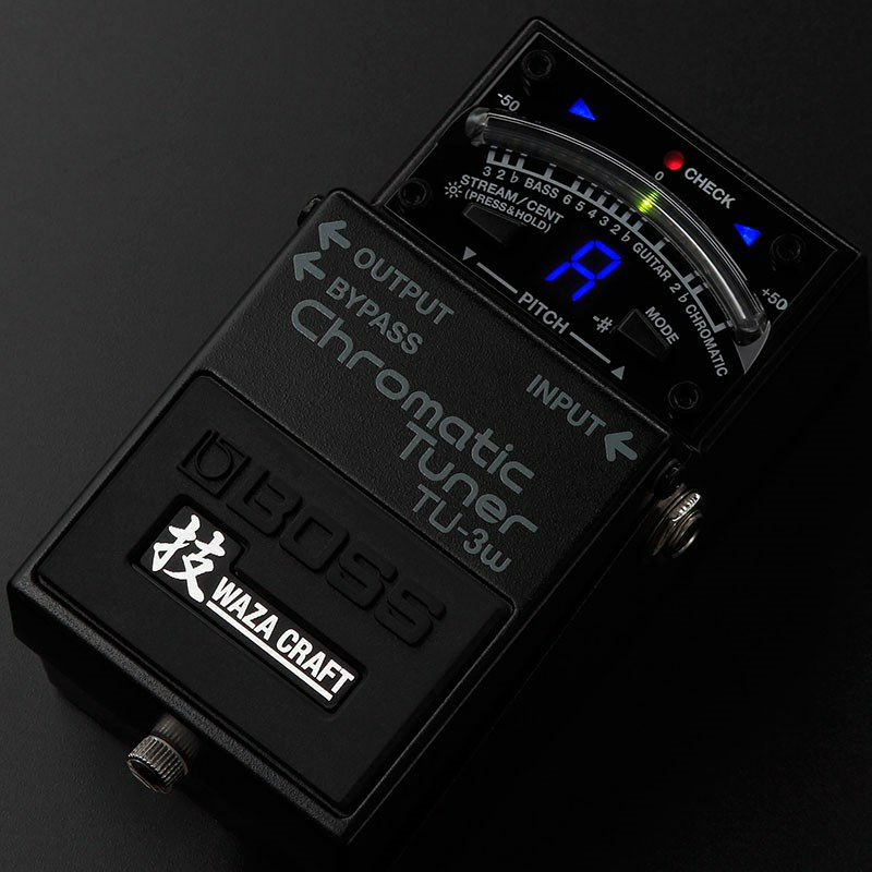 TU-3W(J) MADE IN JAPAN [Chromatic Tuner 技 Waza Craft Series Special Edition]_3