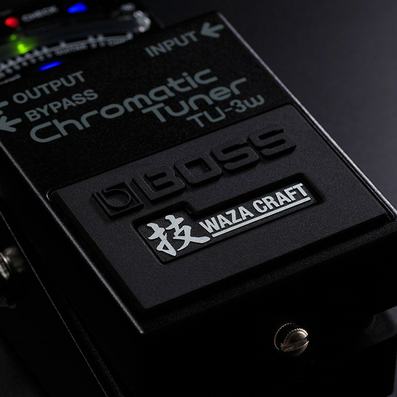 TU-3W(J) MADE IN JAPAN [Chromatic Tuner 技 Waza Craft Series Special Edition]_4