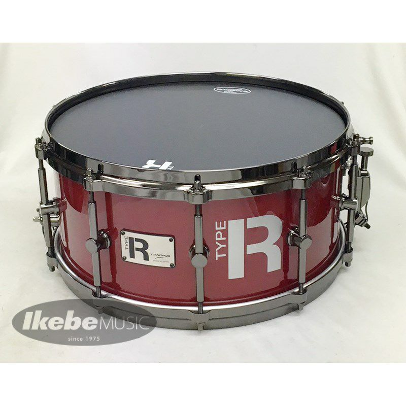 "MTR-1465-DH/BN:CHERRY METALLIC ""Type R Series"" [Die Cast Hoops / Black Nickel Hardware]_1"