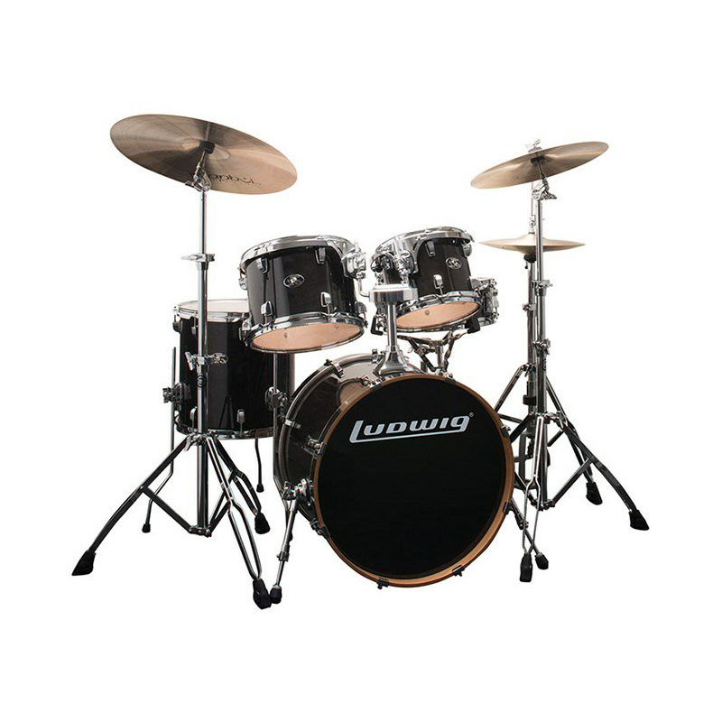 LCEM520XTB [Evolution Maple / Transparent Black Finish] 【Shell Kit:BD20・FT14・TT10&12・SD14】 【日本国内限定キット】 【お取り寄せ品】_1