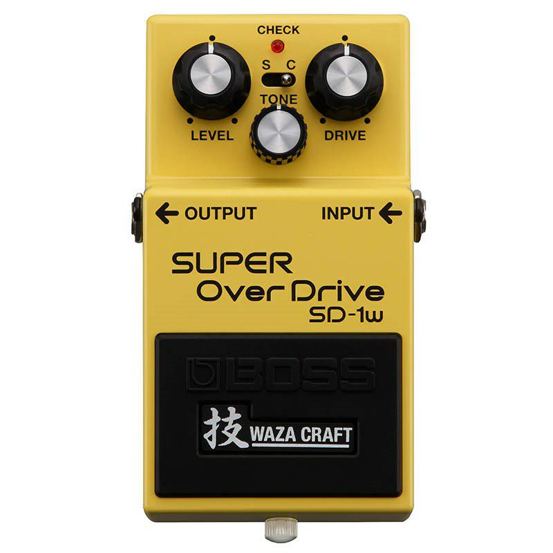 SD-1W(J) [MADE IN JAPAN] [SUPER OverDrive 技 Waza Craft Series Special Edition] 【期間限定★送料無料】 【IKEBE×BOSSオリジナルデザイン風呂敷プレゼント】_1