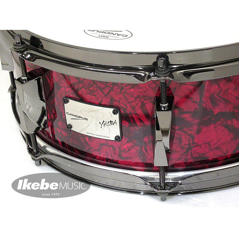 "JSM-1455 [""YAIBA II"" /Maple 14""×5.5""] 【カスタムオーダーモデル:Red Pearl Covering / Black Nickle Parts】 [CL2020]_2"