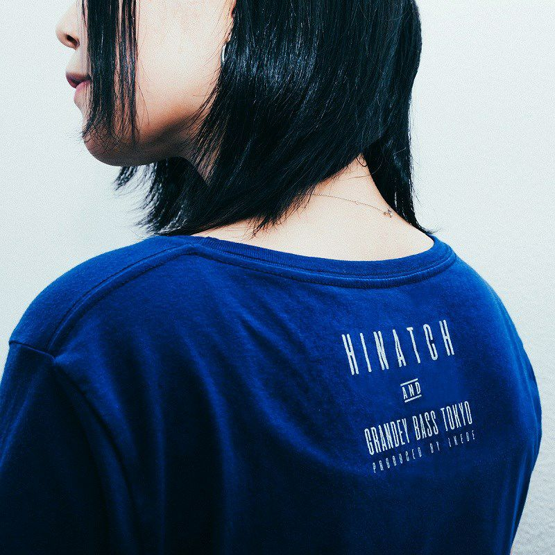 HINATCH Bassist 25th Anniversary Collaboration T-Shirt 「MORE゜」(Navy/S)_4