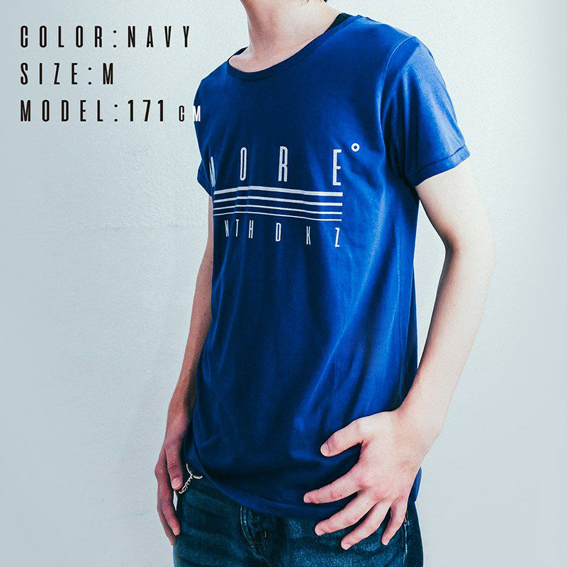 HINATCH Bassist 25th Anniversary Collaboration T-Shirt 「MORE゜」(Navy/S)_6