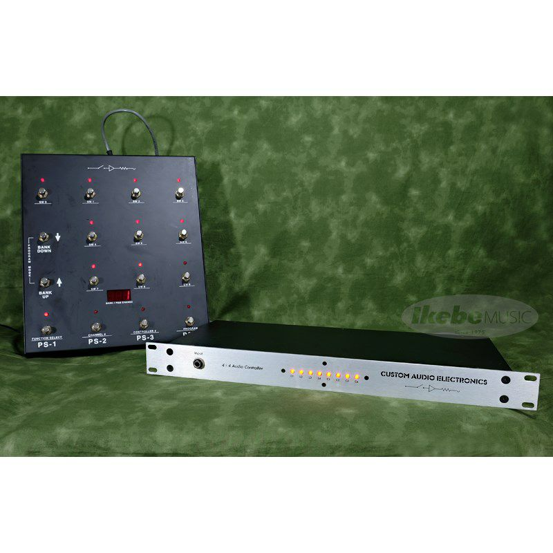 RS-10 MIDI Foot Controller & 4×4 Audio Controller Set_1