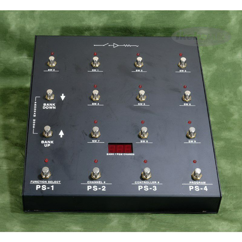 RS-10 MIDI Foot Controller & 4×4 Audio Controller Set_4