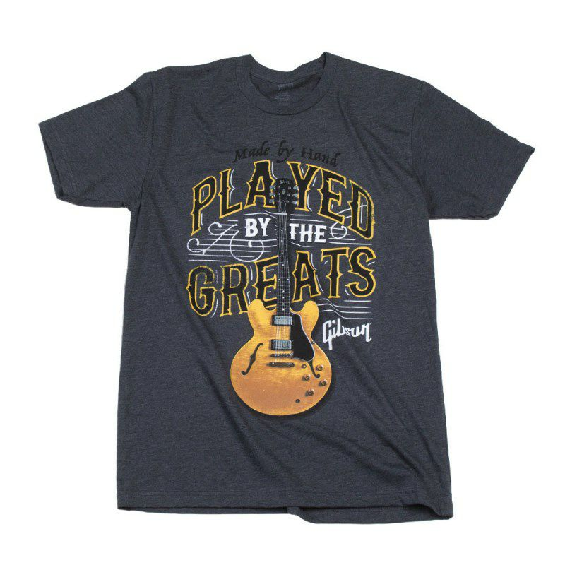 Played By The Greats T (Charcoal) / Size: Small [GA-PBGMSM]_1