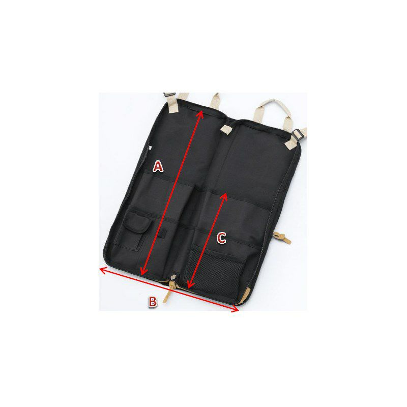 "TSB24WR [ ""POWERPAD DESIGNER COLLECTION"" STICK BAG WINE RED(ワインレッド)]_6"