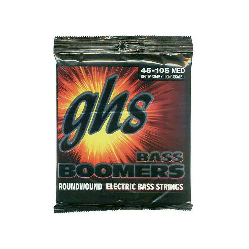 Bass Boomers Long Scale Plus M3045X (045-105) 【岡峰光舟 低音便覧プレゼント!】_2