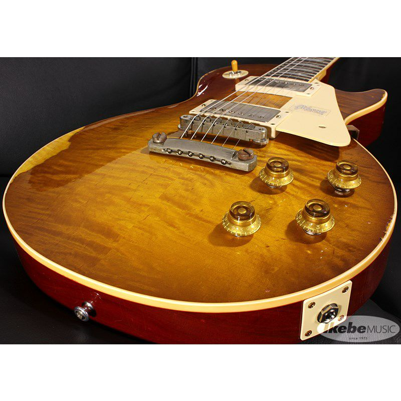 CS Historic Collection 1959 Les Paul Standard,Hand Selected Maple Top,Ultra Aged(Tracker Burst)【SN.982889/W≒3.95kg】_4