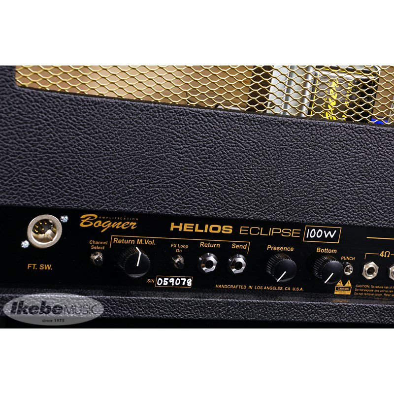 HELIOS ECLIPSE Head [100w, 3ch, All Tube, Point to point hand wired]_9