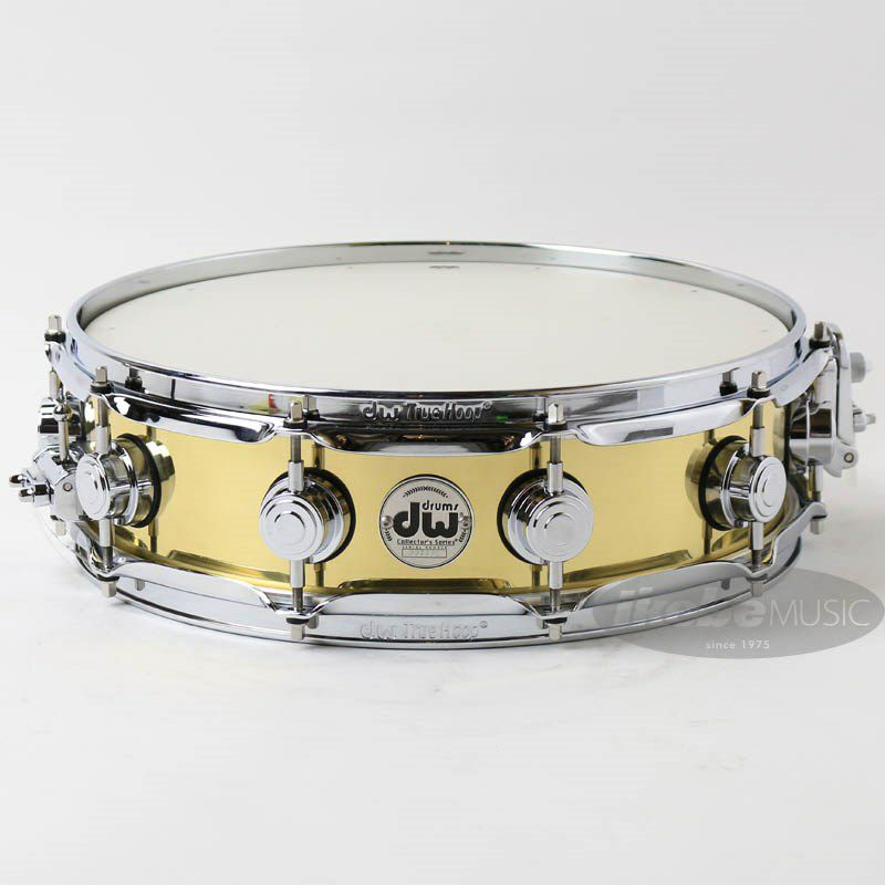 DW-BR7 1404SD/BRASS/C/S [Collector's Metal Snare / Bell Brass 14 × 4]_1