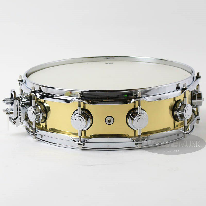 DW-BR7 1404SD/BRASS/C/S [Collector's Metal Snare / Bell Brass 14 × 4]_2