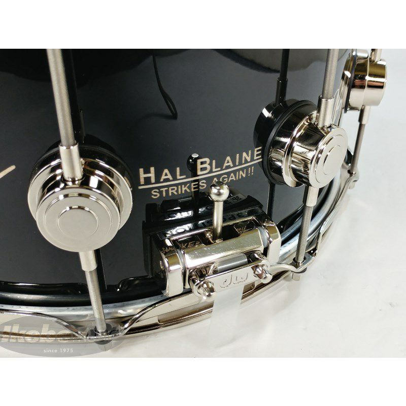 DW-ICON HAL BLAINE [Icon Snare Drums / HAL BLAINE WRECKING CREW :No.24 /250]【全世界限定:250台】_6