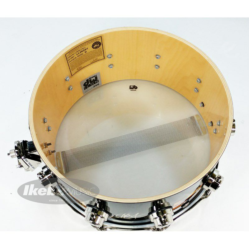 DW-ICON HAL BLAINE [Icon Snare Drums / HAL BLAINE WRECKING CREW :No.24 /250]【全世界限定:250台】_9