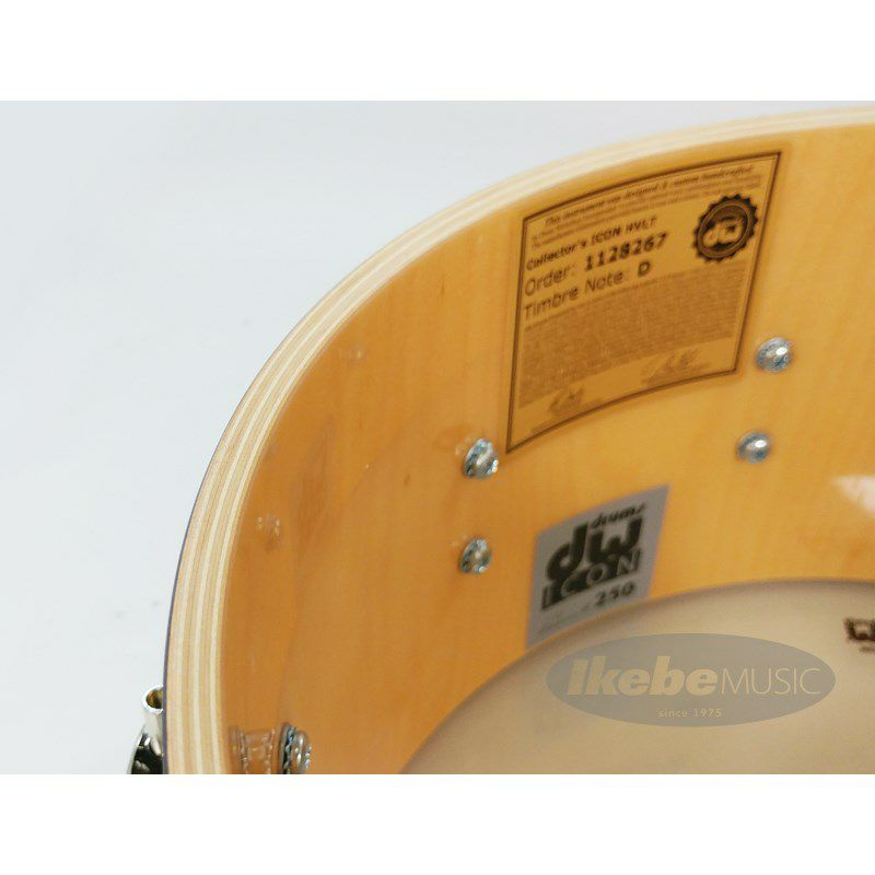DW-ICON HAL BLAINE [Icon Snare Drums / HAL BLAINE WRECKING CREW :No.24 /250]【全世界限定:250台】_10