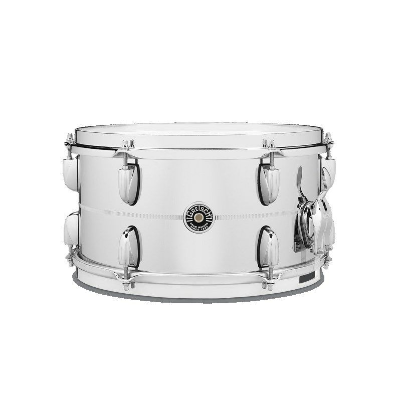 """GB-4163S [Brooklyn Snare Drum Metal Shell / Chrome Over Steel 13"""" × 7""""]_1"""