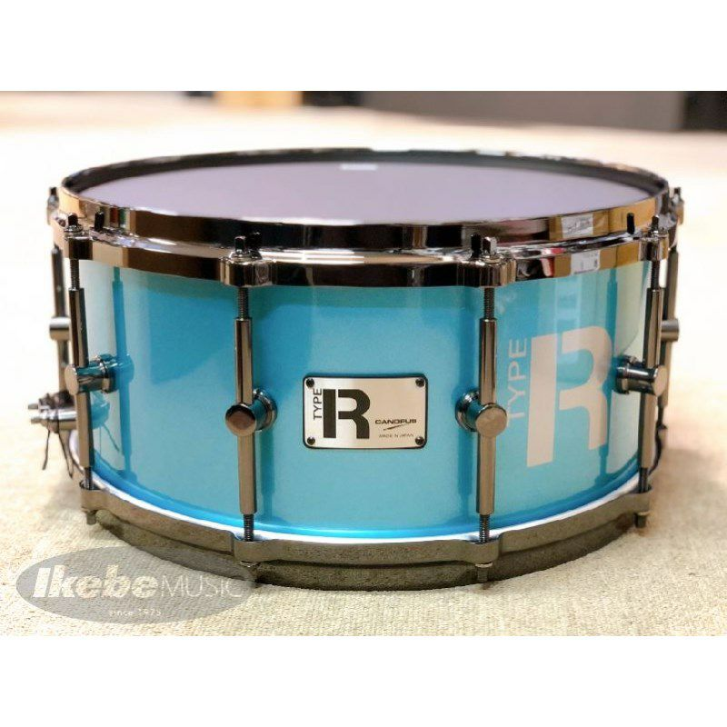 "MTR-1465-DH/BN:Turquoise Metallic ""Type R Series"" [Die Cast Hoops / Black Nickel Hardware]_1"