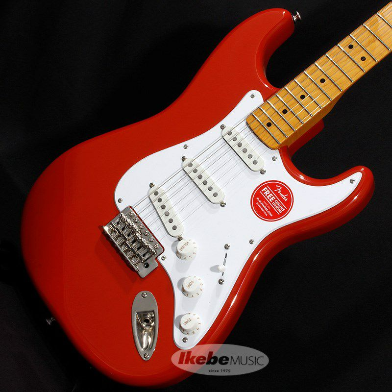 Classic Vibe '50s Stratocaster (Fiesta Red/Maple Fingerboard)_2