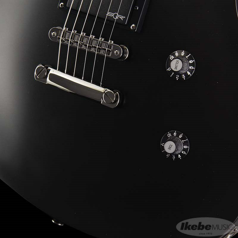 Contemporary Active Starcaster (Flat Black/Maple Fingerboard)_5