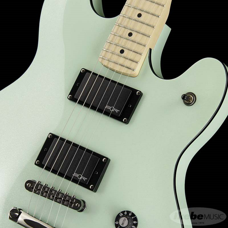 Contemporary Active Starcaster (Surf Pearl/Maple Fingerboard)_4